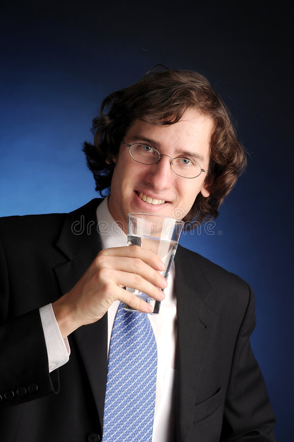 El retrato del hombre de negocios atractivo fotos de archivo