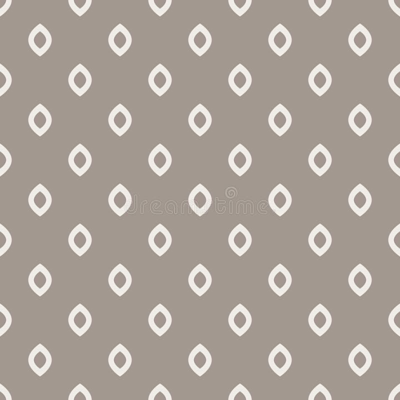 El Rhombus puntea el modelo inconsútil gris del vector libre illustration