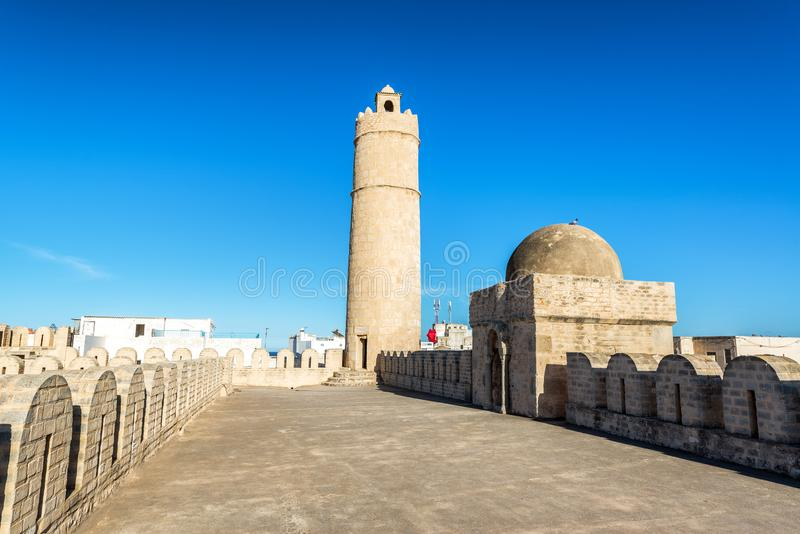 El Ribat en Sousse, Túnez imagen de archivo