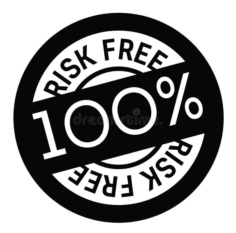 El riesgo libera el sello de goma libre illustration