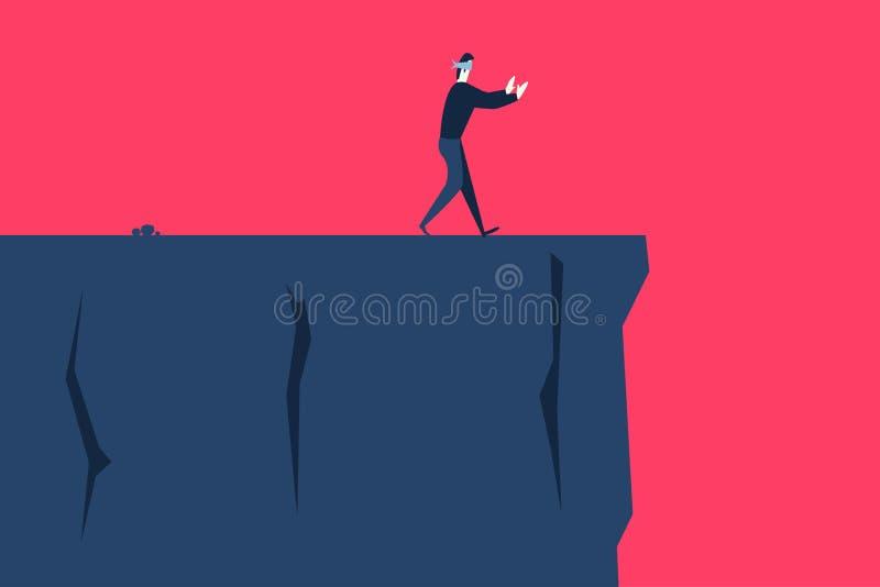 El riesgo stock de ilustración