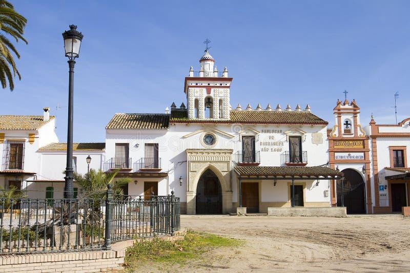 Download El Rocio, Spain stock photo. Image of europe, famous - 28769692