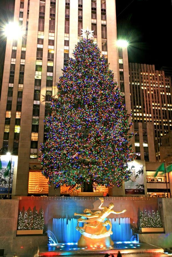 El Rockefeller NYC de centro imagen de archivo libre de regalías