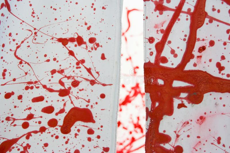 El rojo fotografía de archivo