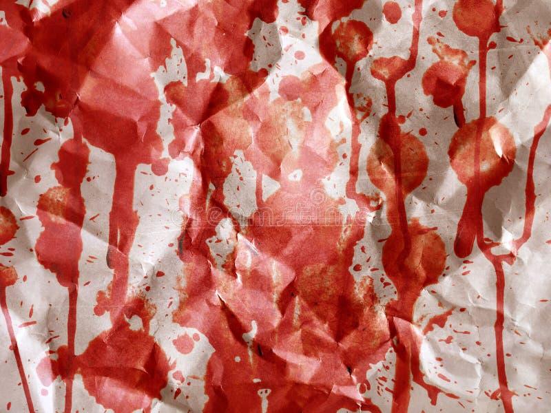 El rojo arrugó la textura de papel imagen de archivo
