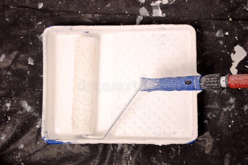 El rollo del pintor acessory imagen de archivo