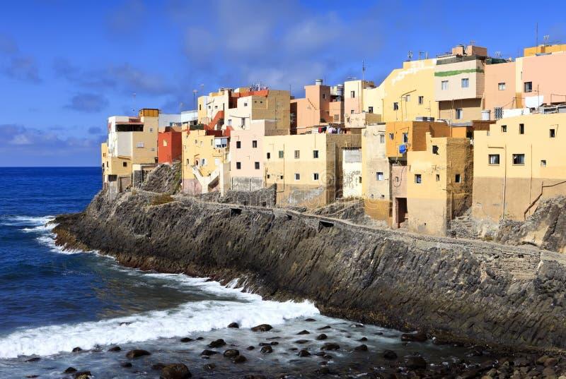 El Roque de Сан Felipe, Gran Canaria стоковые фотографии rf