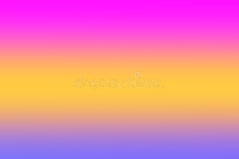 El rosa colorido de la pendiente de las luces empañó la sombra colorida del papel pintado suave, dulce del color, colores del arc imágenes de archivo libres de regalías