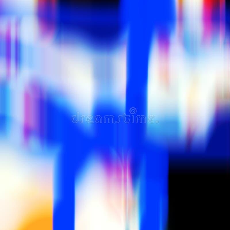 El rosa oscuro azul forma el fondo, fondo de las luces, colores, gráficos abstractos de las sombras Fondo y textura abstractos stock de ilustración