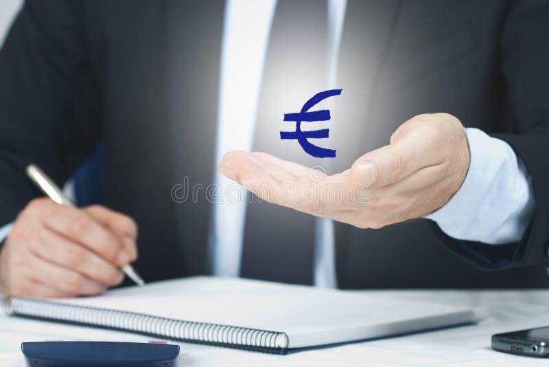 El símbolo de la economía y de las finanzas foto de archivo libre de regalías