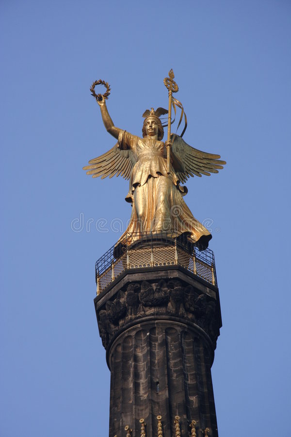 El símbolo del ángel de Berlín fotografía de archivo libre de regalías