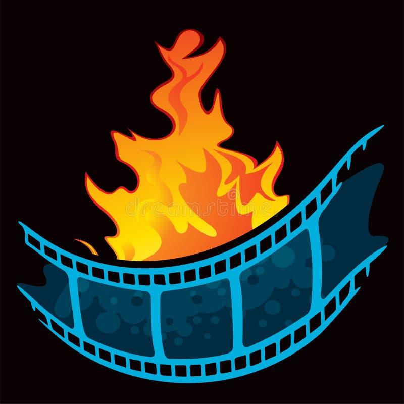 El símbolo más caliente de la premier de la película libre illustration