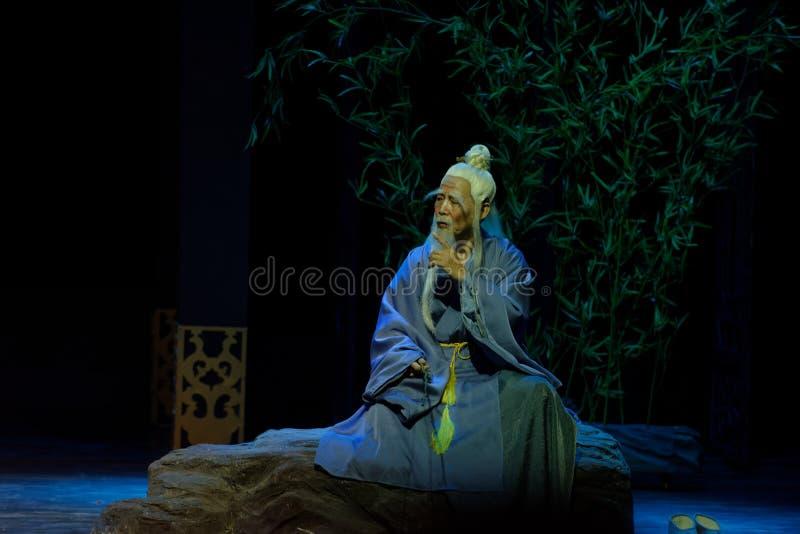 el sacerdote mayor 1-The del Taoist primero actúa: el drama histórico noche-grande de la nueva boda, ` Yangming ` de tres noches fotos de archivo libres de regalías