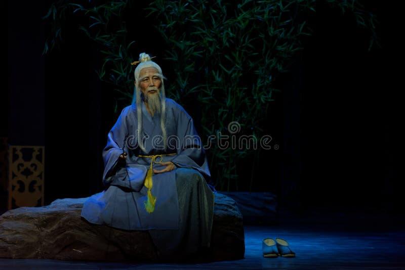 el sacerdote mayor 1-The del Taoist primero actúa: el drama histórico noche-grande de la nueva boda, ` Yangming ` de tres noches fotos de archivo