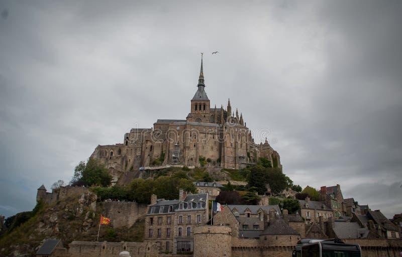 El Saint Michel de Mont francia fotografía de archivo libre de regalías