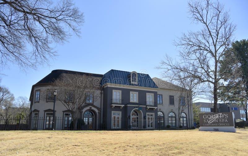 El salón y balneario, Memphis, TN de Gould foto de archivo