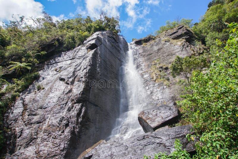 El salto del ` s del amante baja en Sri Lanka imagenes de archivo