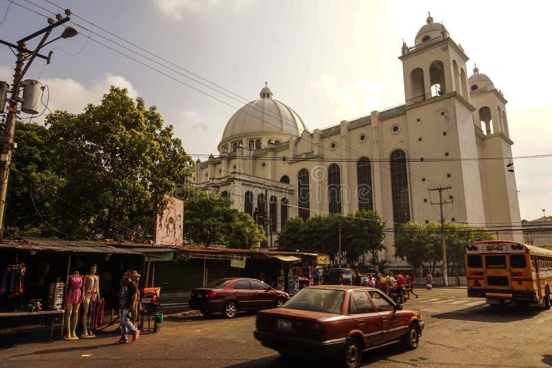 El Salvador square stock photography