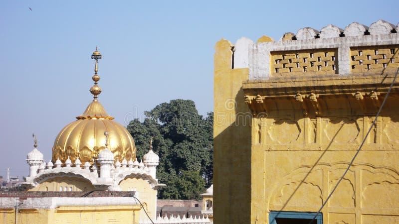El Samadhi de Ranjit Singh imagenes de archivo