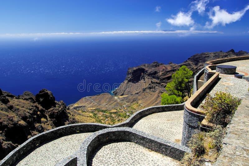 El Santo,戈梅拉岛,金丝雀,西班牙 库存图片