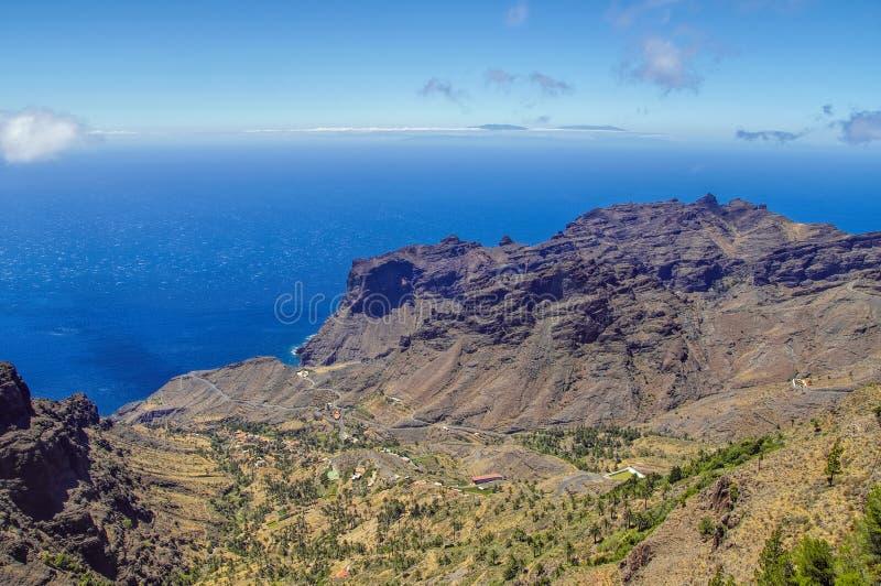 EL Santo, La Gomera, canari, Espagne photos libres de droits