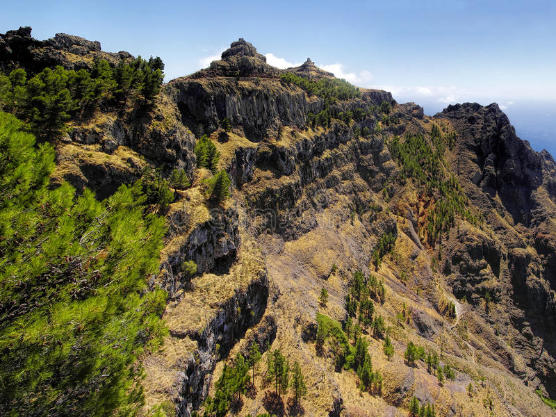 EL Santo, La Gomera, canari, Espagne photographie stock