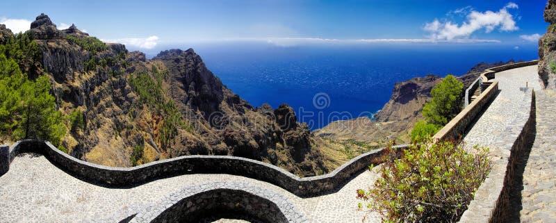 EL Santo, La Gomera, canari, Espagne photographie stock libre de droits
