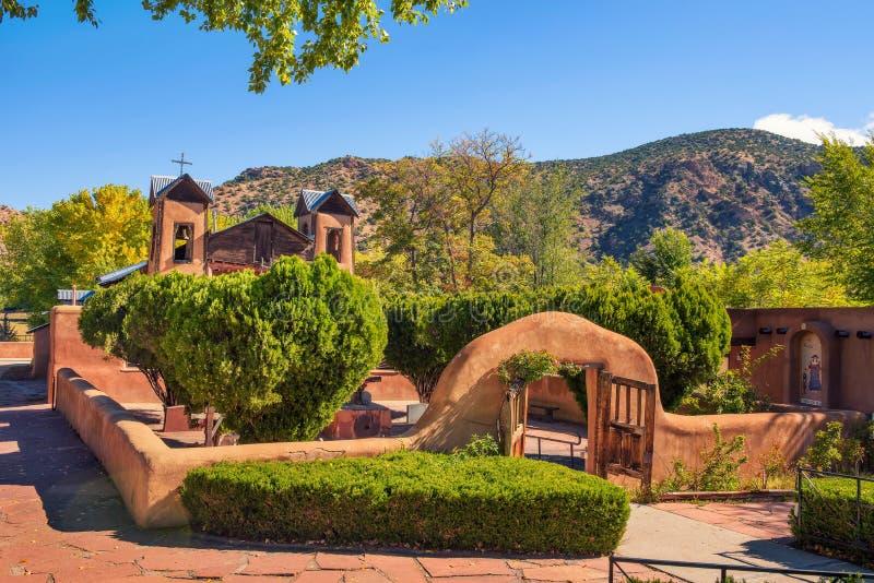 El Santuario De Chimayo historic Church in New Mexico royalty free stock image
