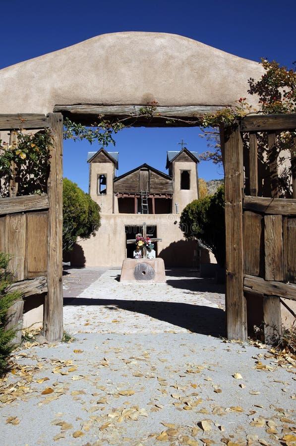 El Santuario de Chimayo Shrine lizenzfreie stockbilder