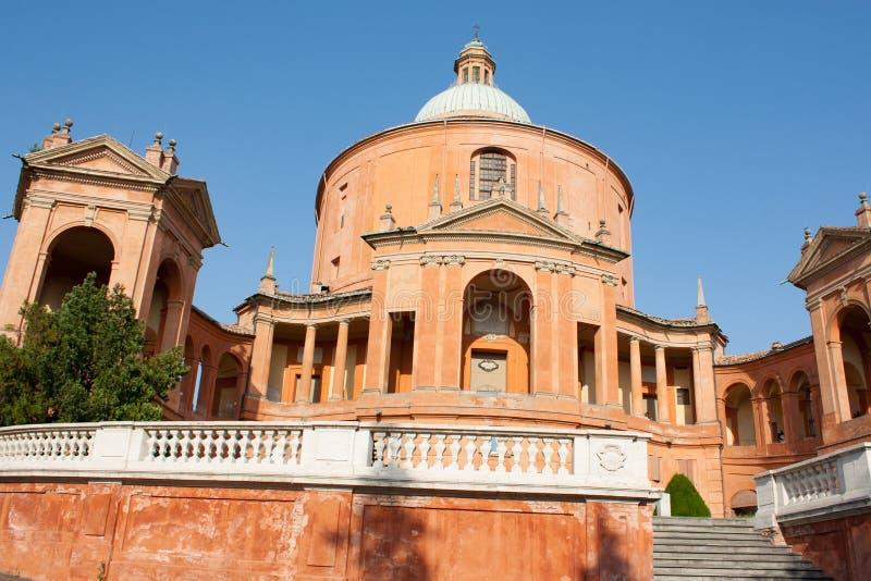 El santuario de Madonna de San Luca fotografía de archivo libre de regalías