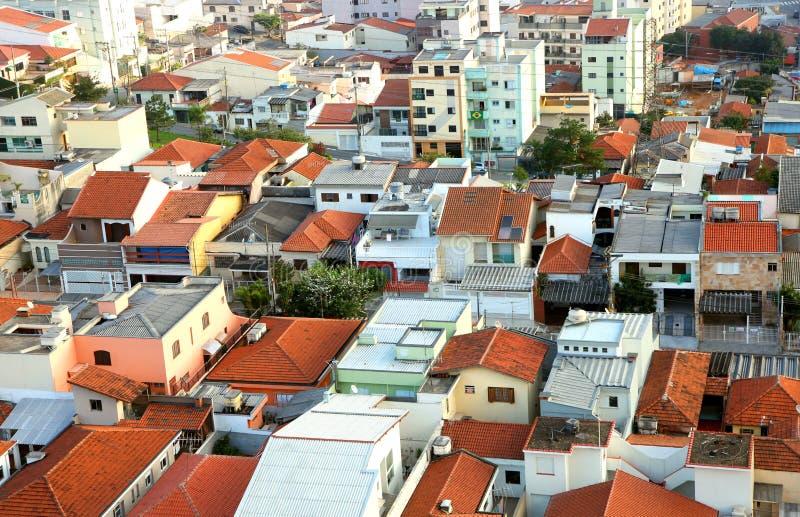 El sao Caetano hace la ciudad del sul en el Brasil fotografía de archivo