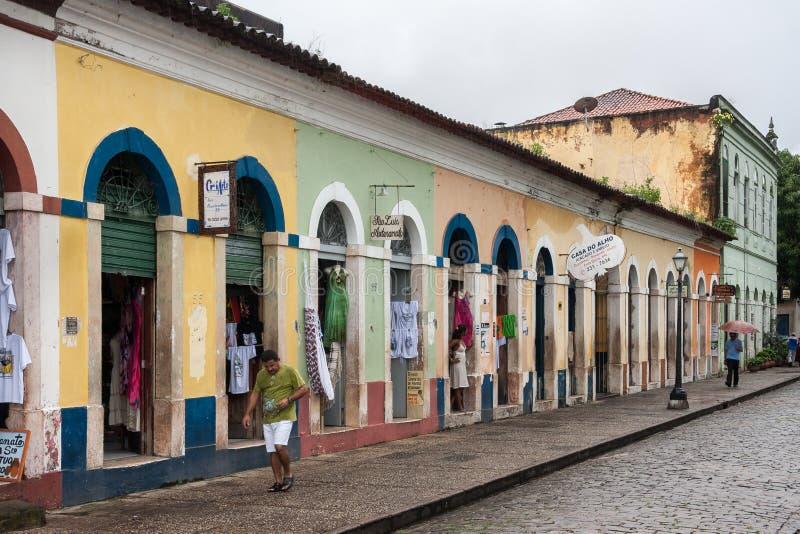 El sao Luis hace Maranhao el Brasil imagenes de archivo