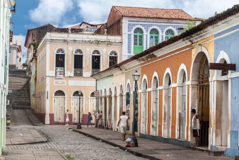 El sao Luis hace Maranhao el Brasil imagen de archivo libre de regalías