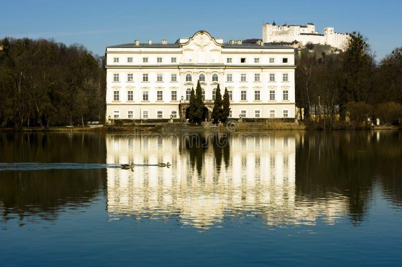 El Schloss Leopoldsckrum imagen de archivo