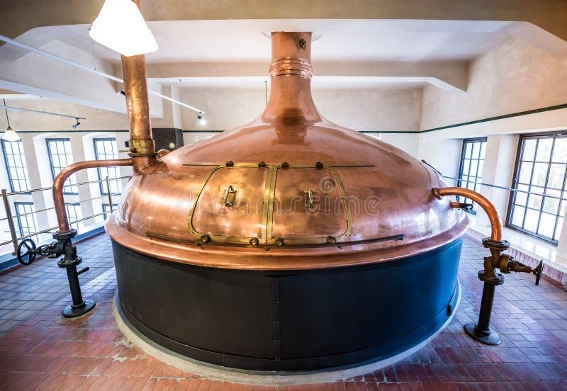 El sector cervecero foto de archivo