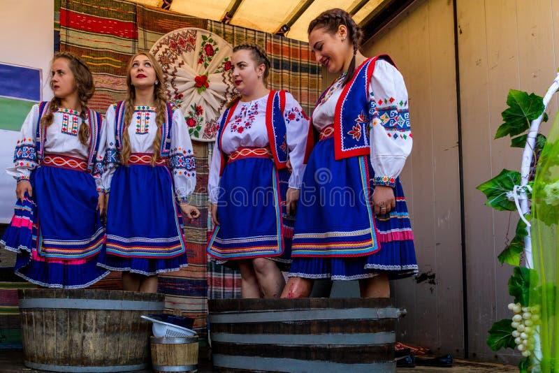 El segundo festival étnico Bobovischenske Grono fue llevado a cabo en Zaka foto de archivo libre de regalías