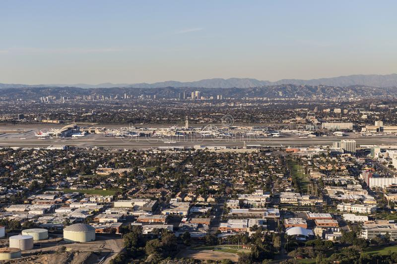 El Segundo i rozwolnienie w Los Angeles Kalifornia obrazy stock
