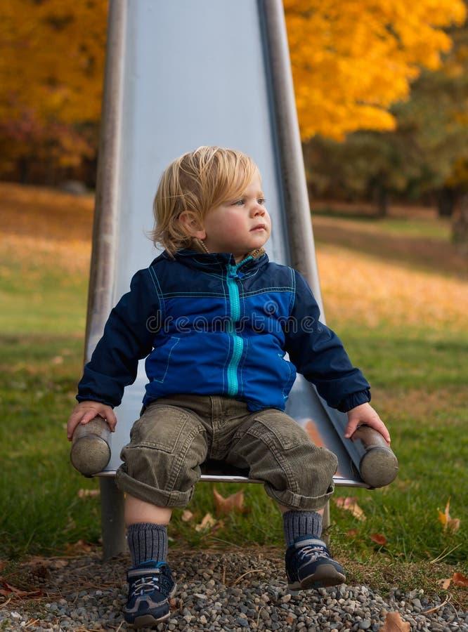 El sentarse, observación, esperando fotos de archivo libres de regalías