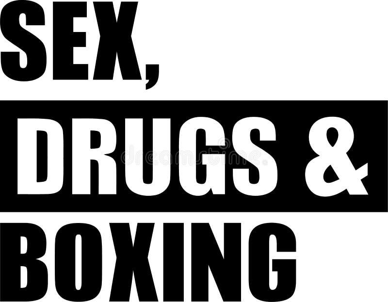 El sexo droga el boxeo libre illustration