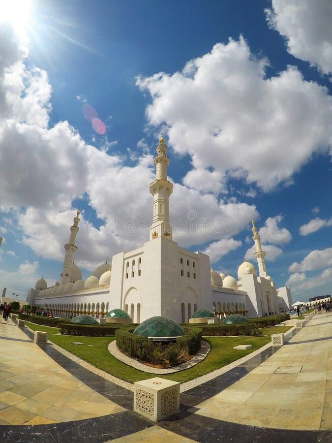 EL Shiekh Zayed Mosque, Abu Dhabi, EAU images stock