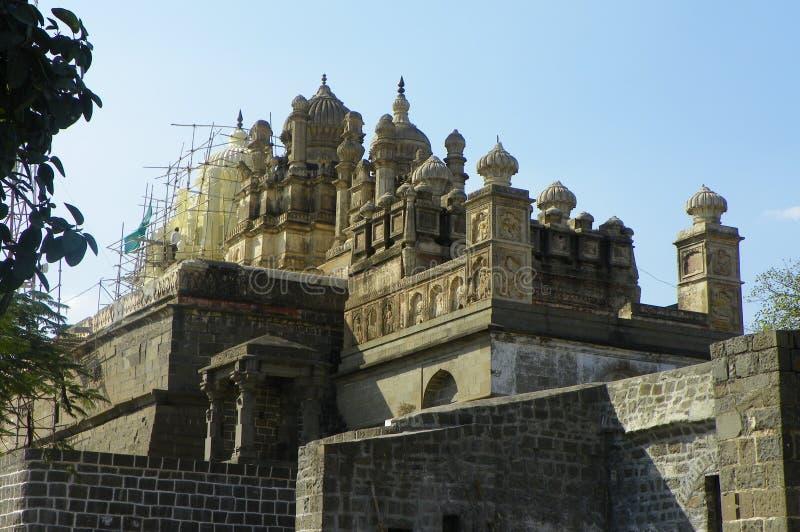 El Shikhara del templo de Bhuleshwar fotografía de archivo