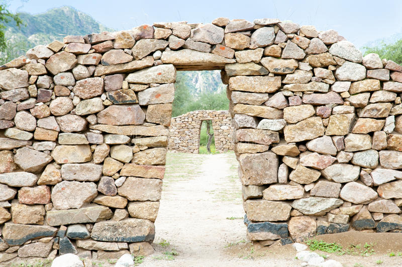 El Shincal Inca Ruins - Catamarca - Argentina. El Shincal Inca Ruins in Catamarca - Argentina royalty free stock images