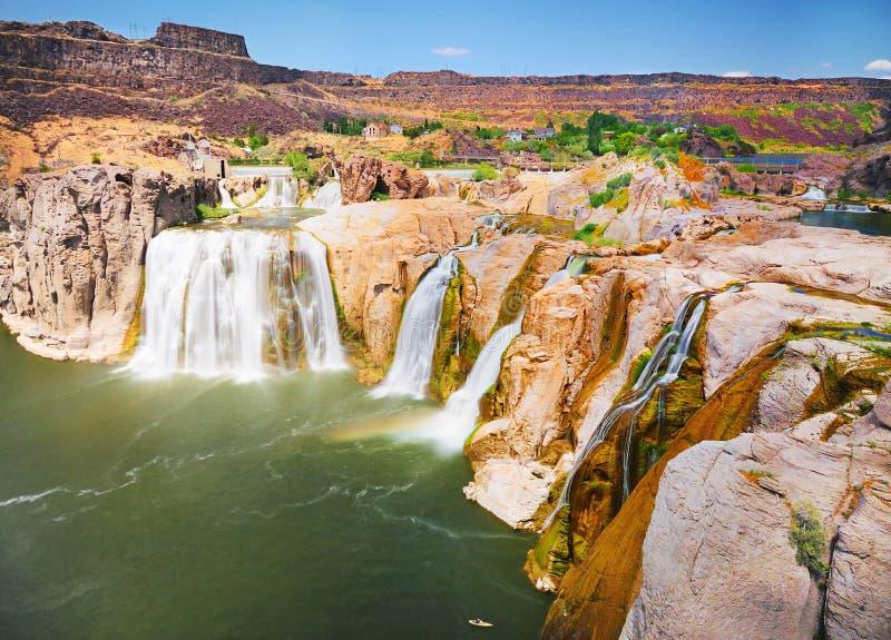 El Shoshone se cae Idaho fotos de archivo libres de regalías