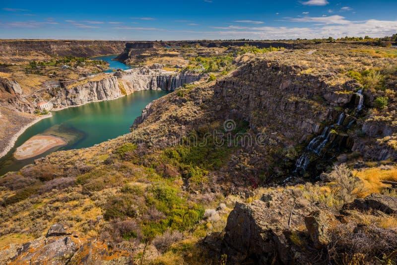 El Shoshone se cae Idaho imagen de archivo libre de regalías