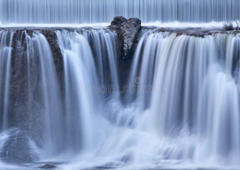 El Shoshone se cae Twin Falls, Idaho imagen de archivo