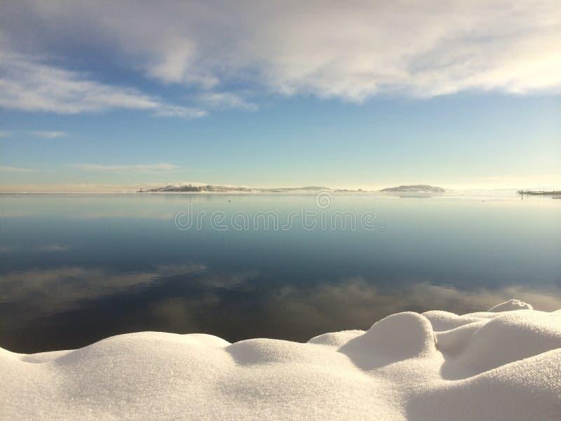 El silencio del invierno imagenes de archivo