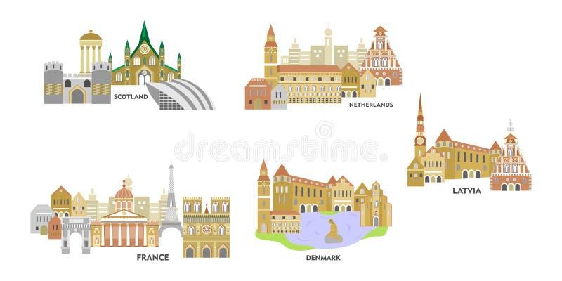 El sistema de Europa libre illustration