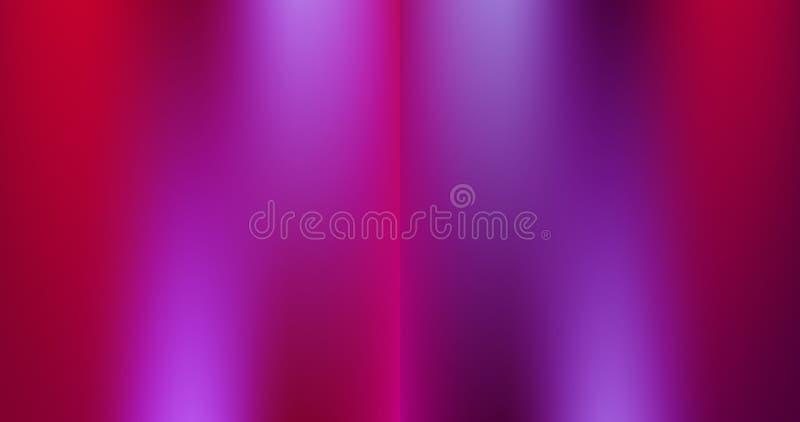 El sistema de la púrpura rosada magenta del resplandor suave 2 entona la versión del vector de los fondos ilustración del vector