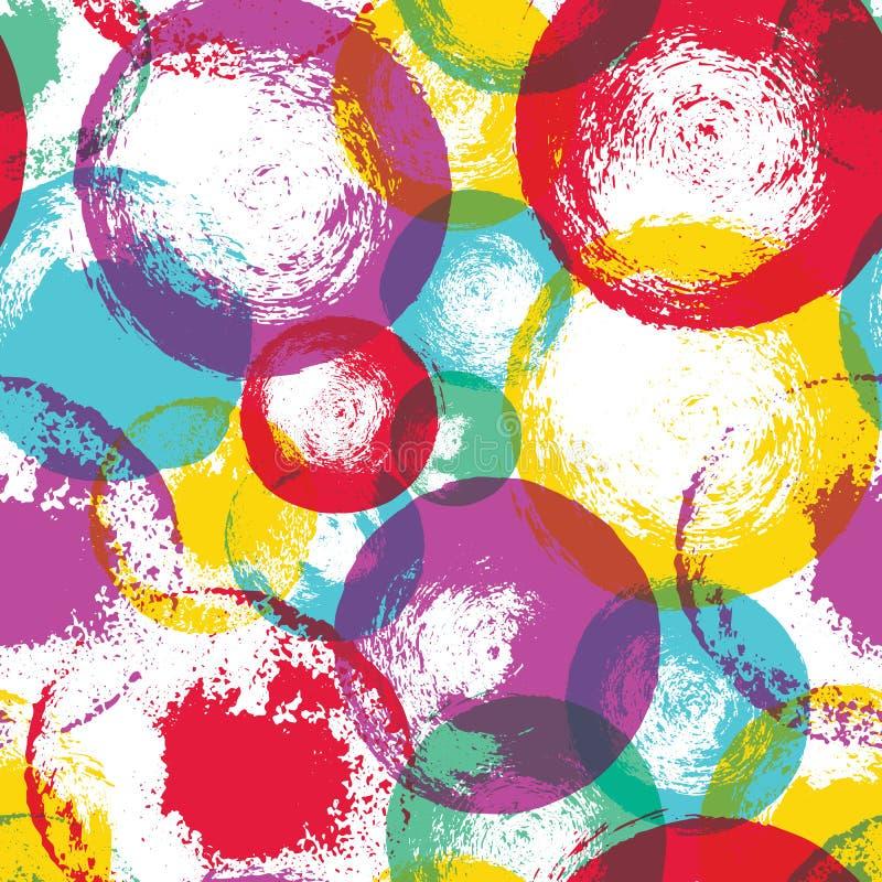 El sistema del vector de puntos dibujados mano del cepillo y salpica, tinta y las texturas de la pintura diseñan elementos libre illustration