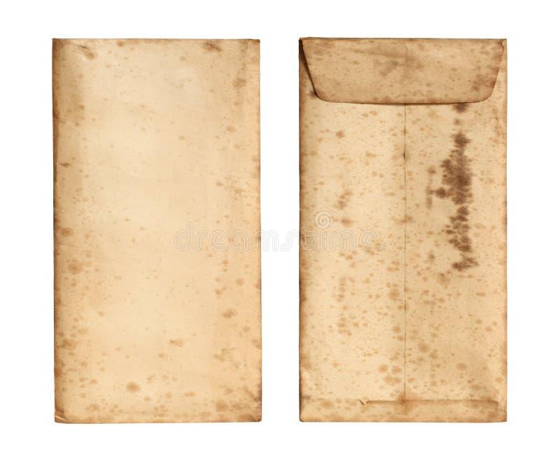 El sobre viejo se cerró fotografía de archivo libre de regalías